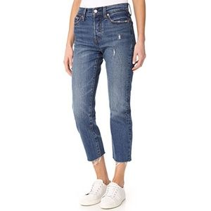 NWOT Levi's Wedgie Straight Jeans Size 25